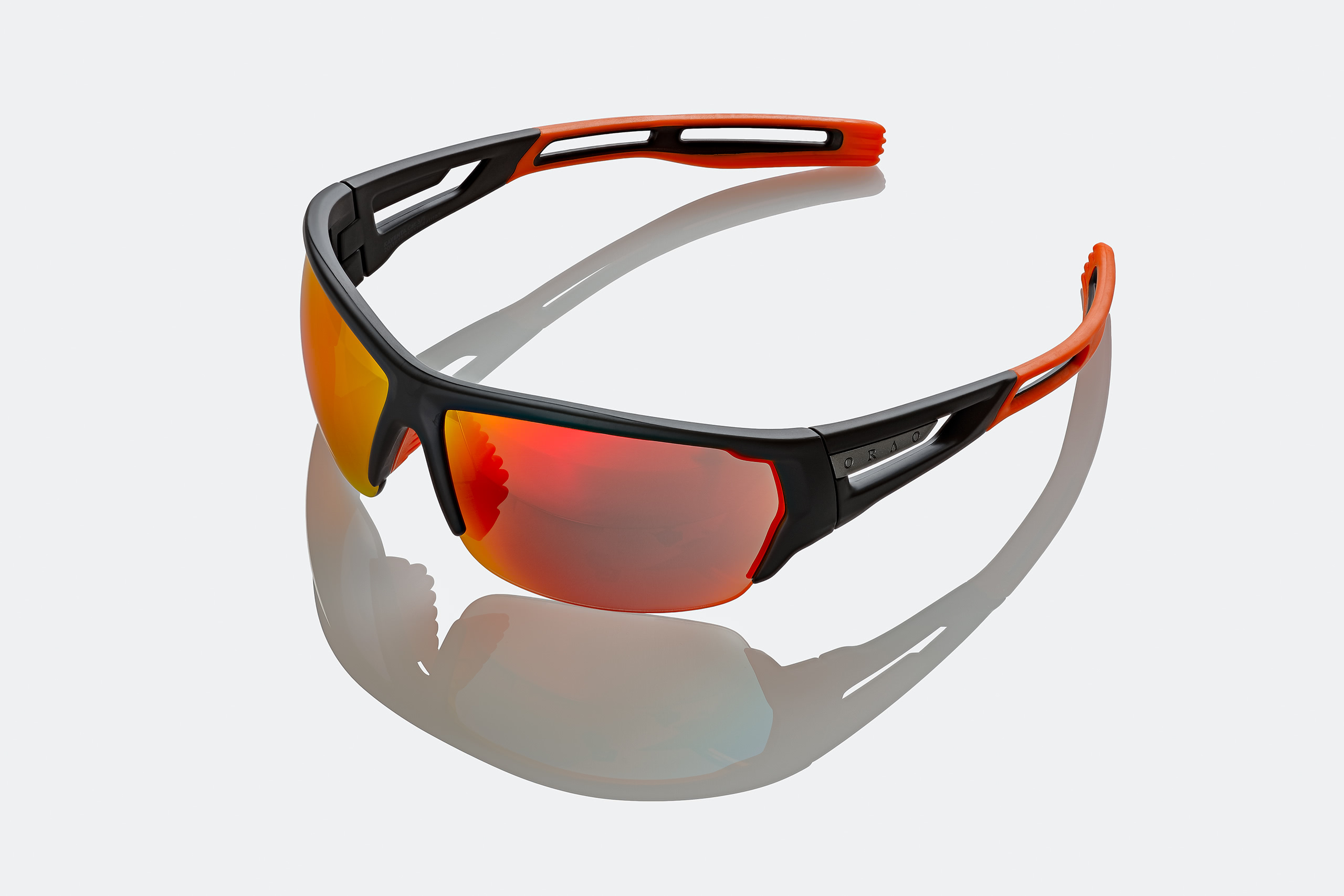 sunglasses commercial product photography on white