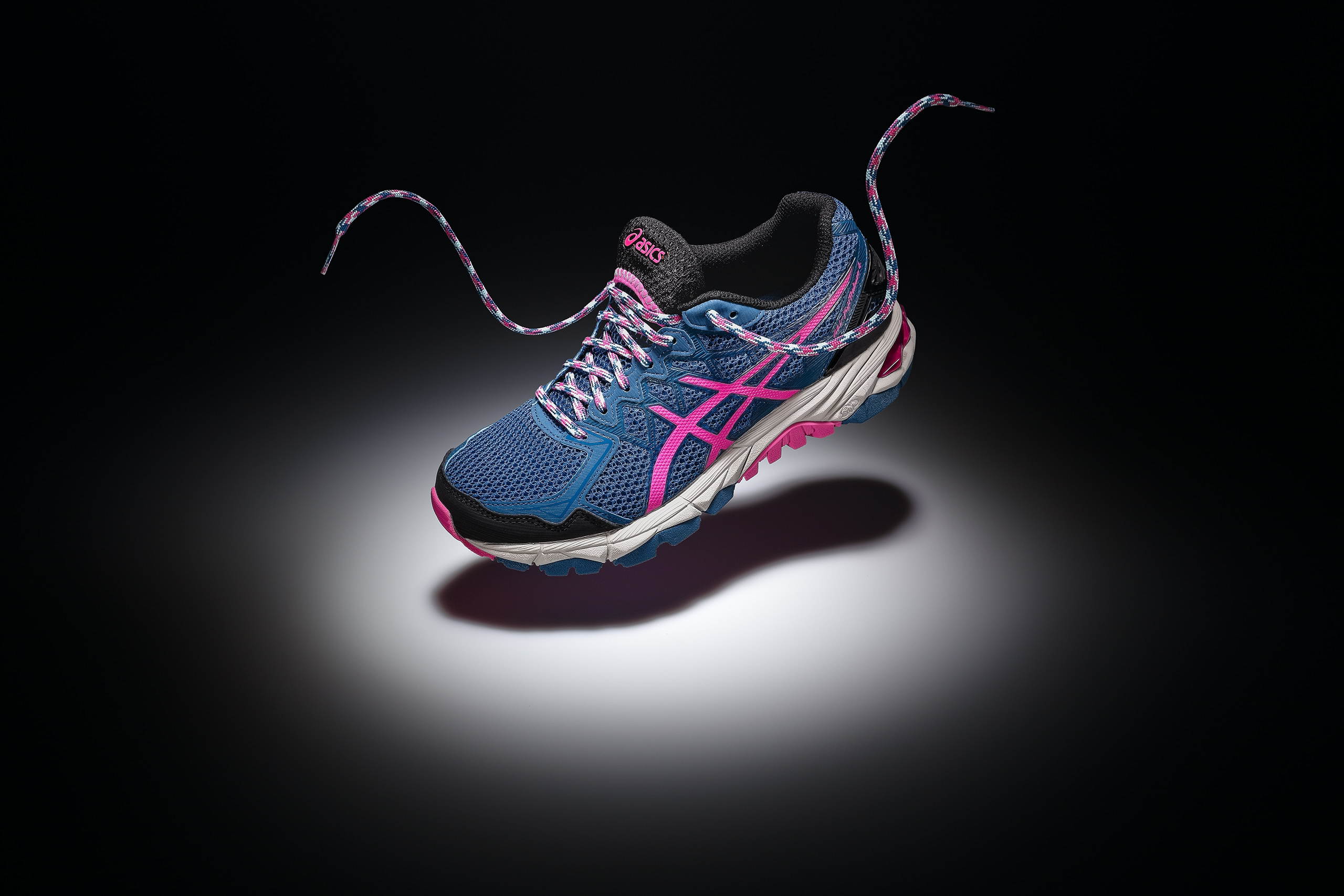 athletic footwear product photography