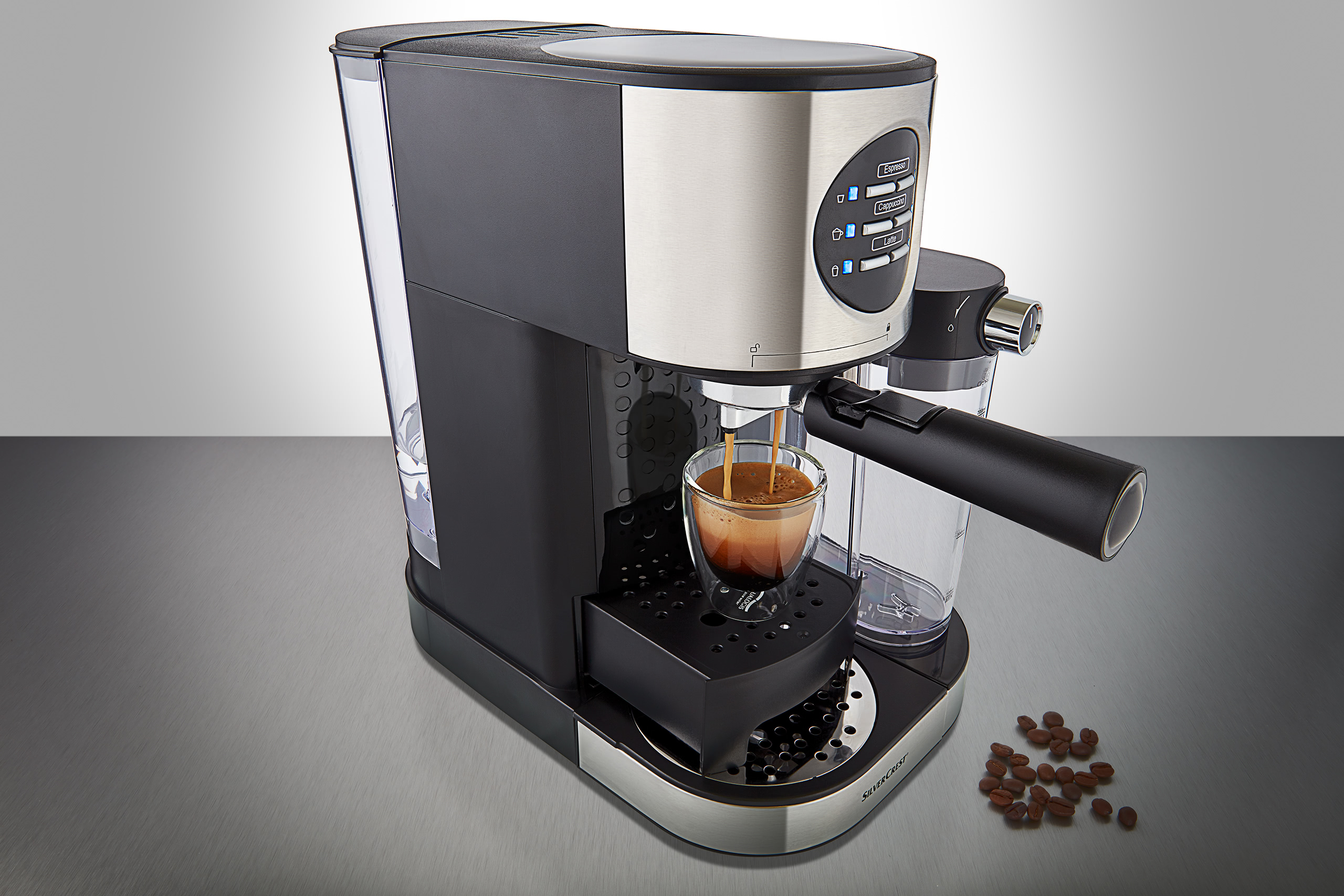 espresso machine product photography