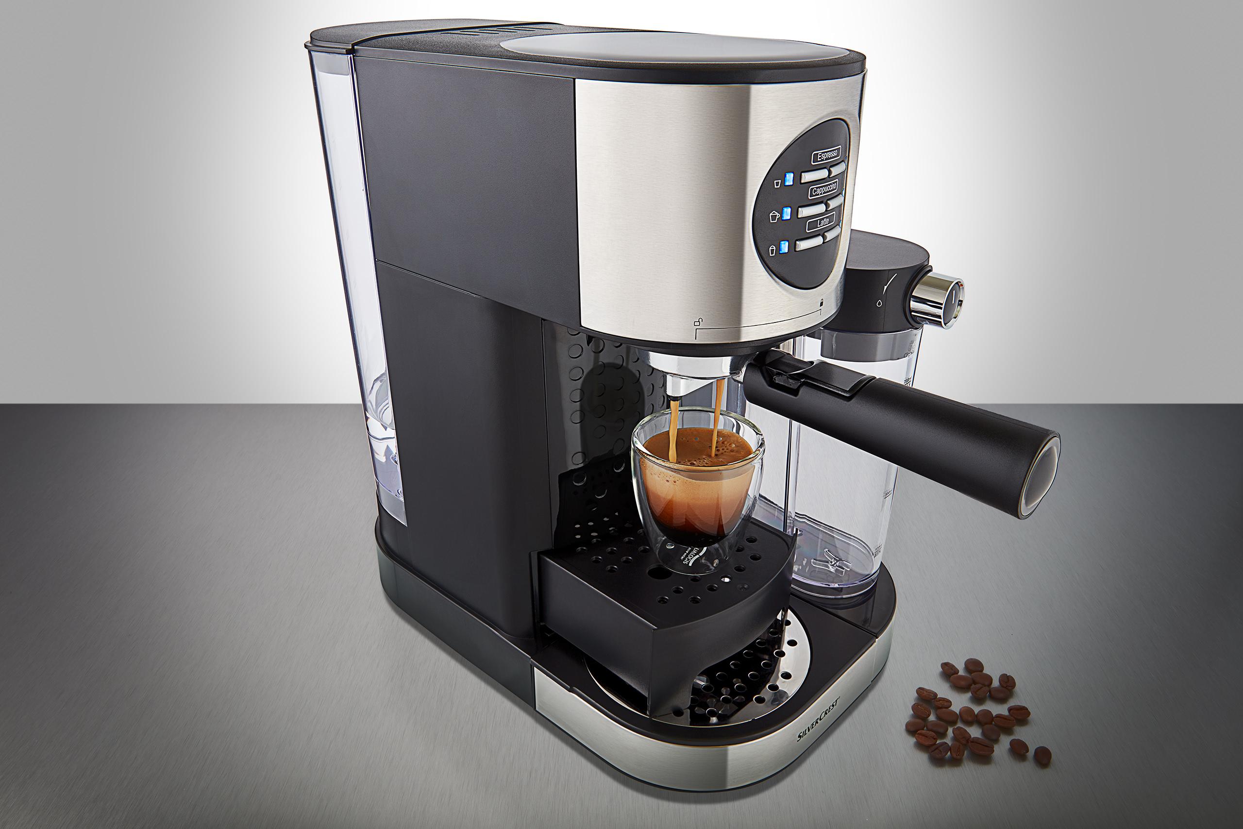 espresso machine product photography
