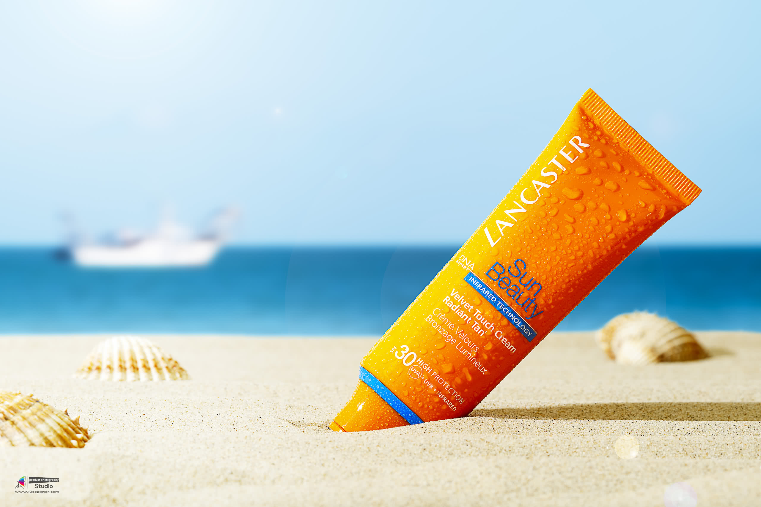 sunscreen cosmetics photography