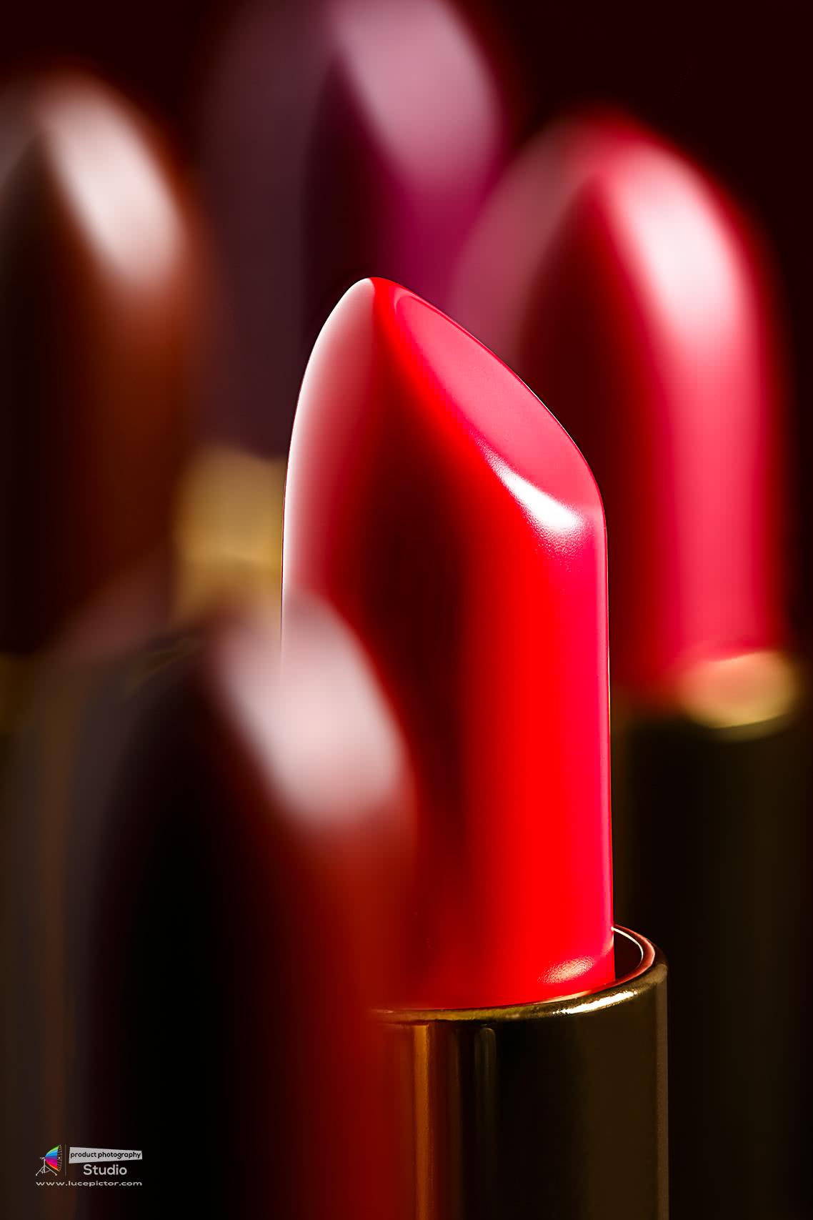 lipstick product shoot