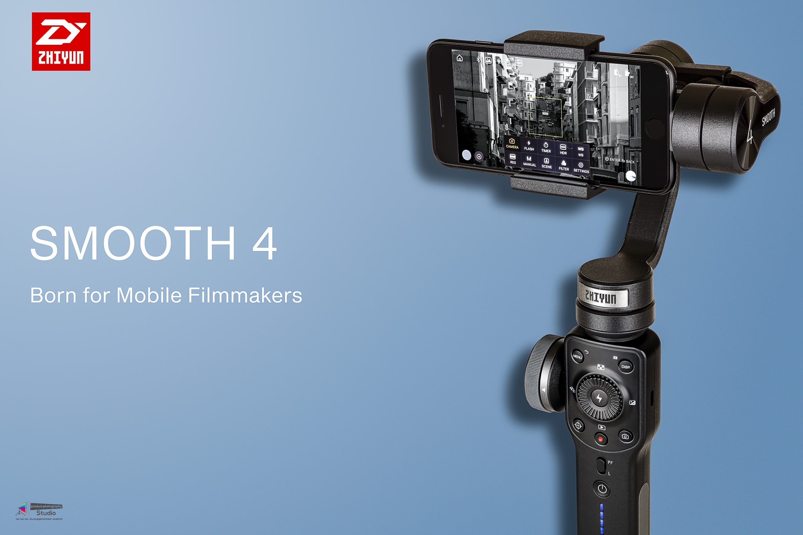 gimbal product photography