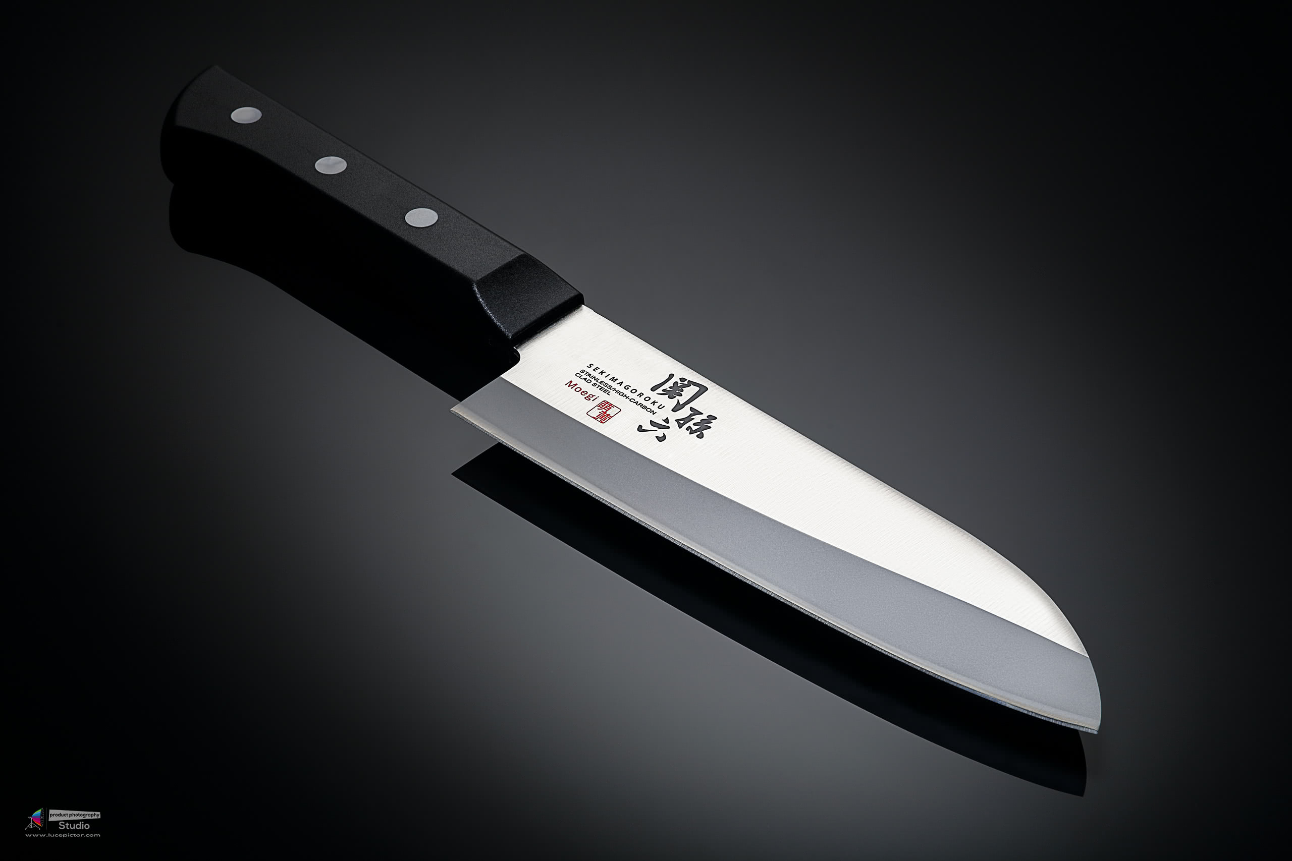 japanese knife product photography