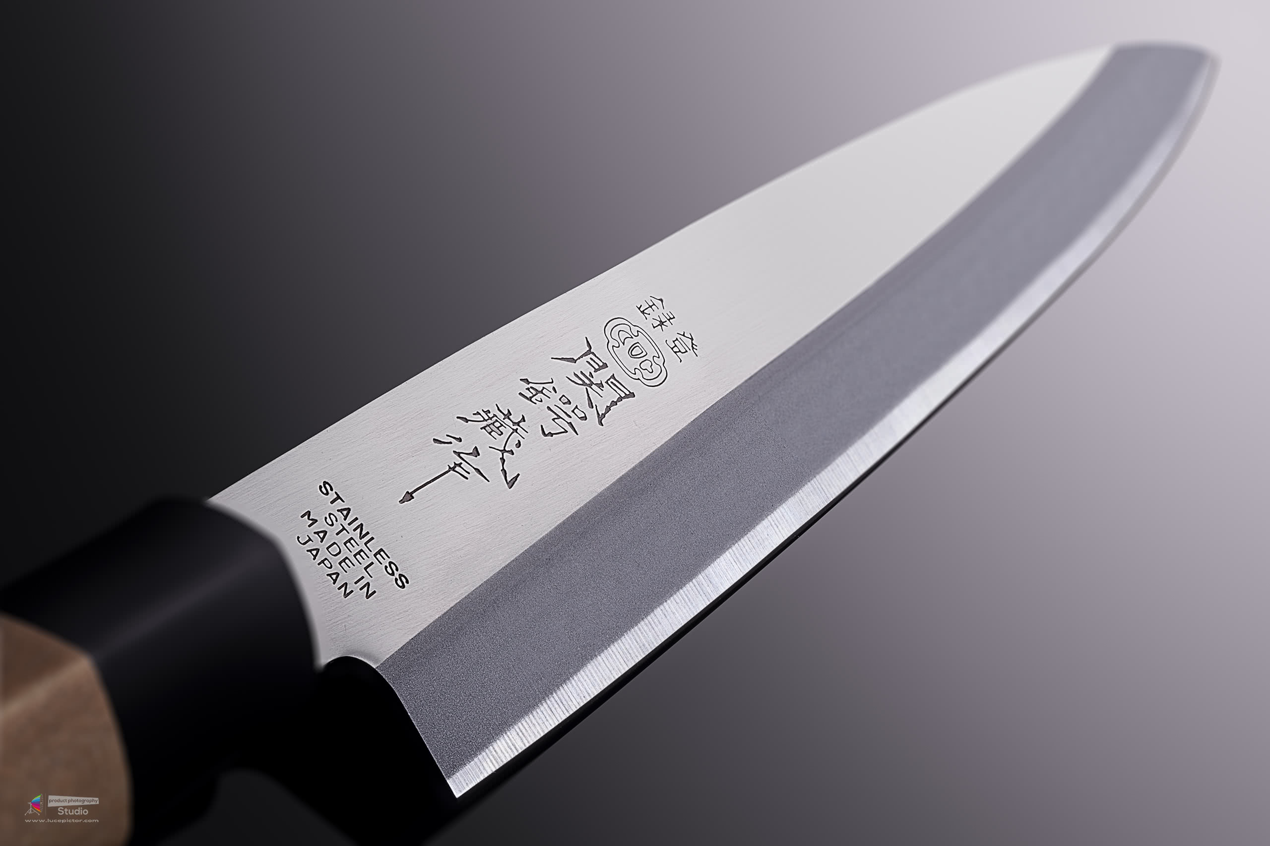 yanagiba knife product photography