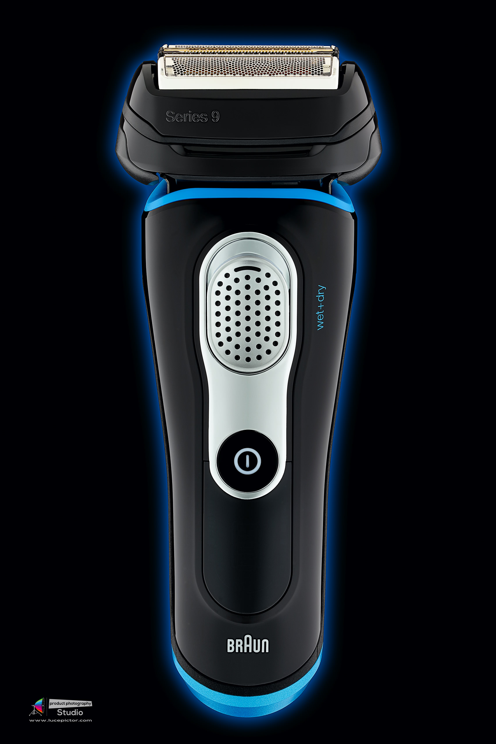 braun shaver product photography