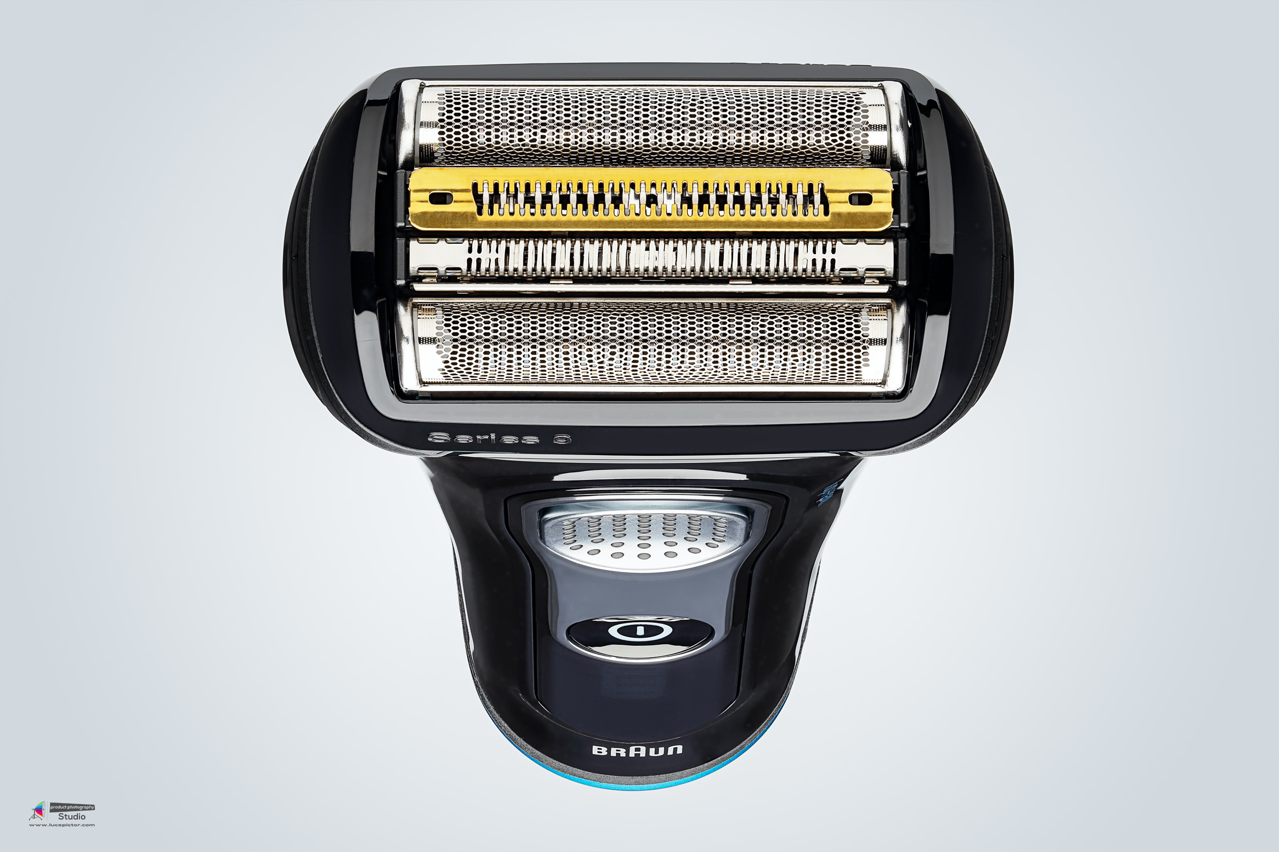 electric shaver product photography